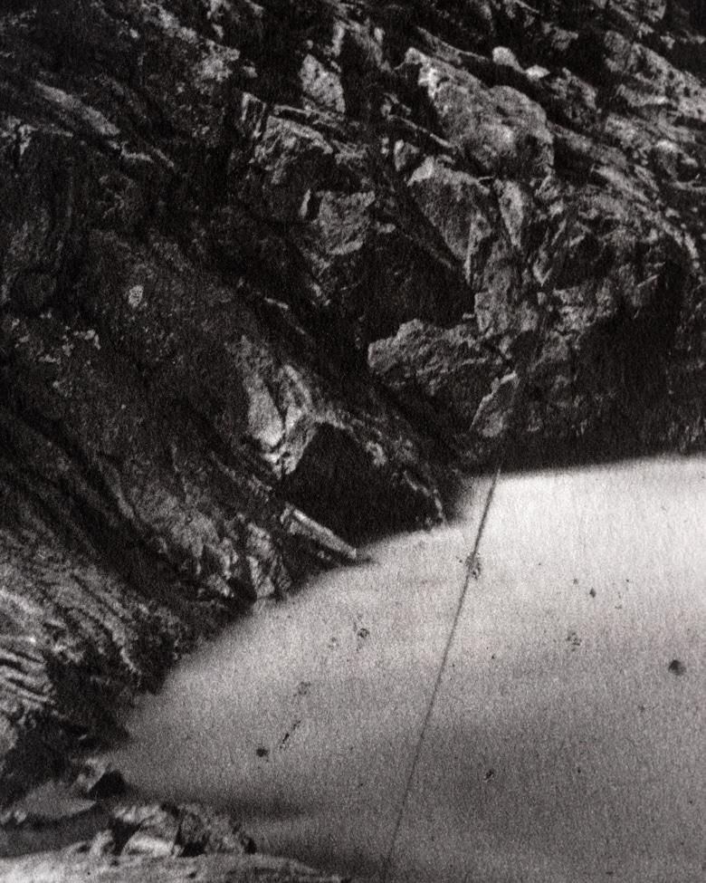 blackprint edition - karo edition Nr.04, antique stereoview photography on glass of Ferrier & Soulier, Devil's Bridge / Teufelsbrücke - Gotthard in Switzerland 1864