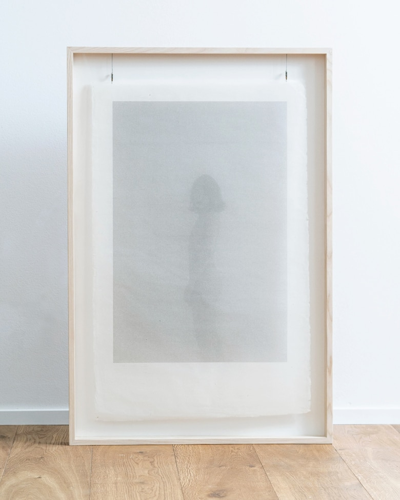 "blackprint edition Limited Artist Edition featuring Alexander Sporre - ""Rotms_zur_3"" with frame"